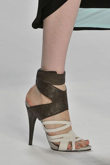 Graphic, Narciso Rodriguez    Carol Steele Duffy via Mary Derrick onto *SHARE THE SHOES YOU LOVE with The Daily Shoe