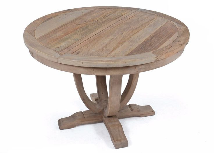 Round Wood Dining Table by Go Home Ltd. 19883. Rustic Furniture StoresRound  Wood Dining TableThe ...