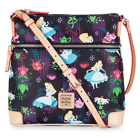 Alice in Wonderland Leather Crossbody Bag by Dooney & Bourke | Disney Store