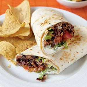 Chipotle Bean Burritos | Cooking Light Magazine