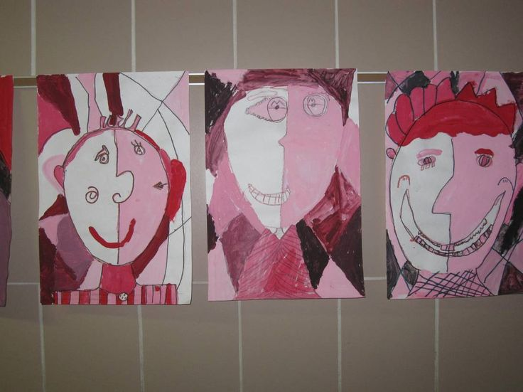 ~Express Yourself~: Pablo Picasso Blue and Rose Periods inspired 4th Grade Art