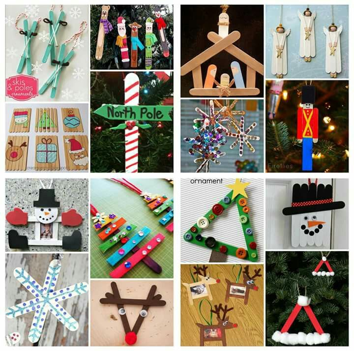 Christmas ornaments out of popsicle sticks holidays for Christmas projects with popsicle sticks