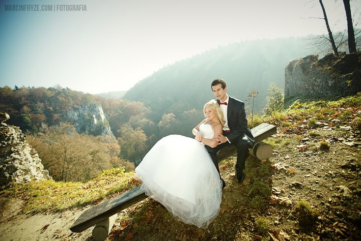 wedding photo session in Ojców