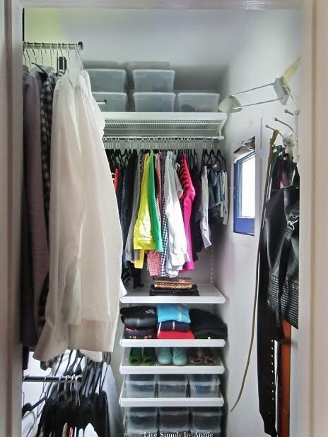 10 ways to squeeze a little extra storage out of a small for Extra closet storage