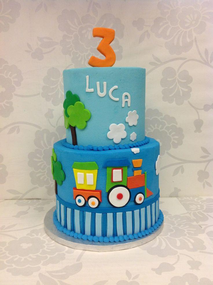 Cupcake Train Birthday Cakes