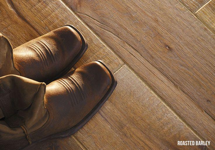 Heartridge Engineered Timber Flooring in Vintage Oak, Roasted Barley