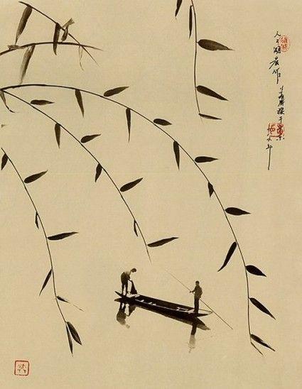 Don Hong Oai (1929-2004).pintura-china-sin-pincel