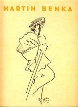 Benka Martin: Kresby. 12 voľných listov,ilustrácia Martin Benka