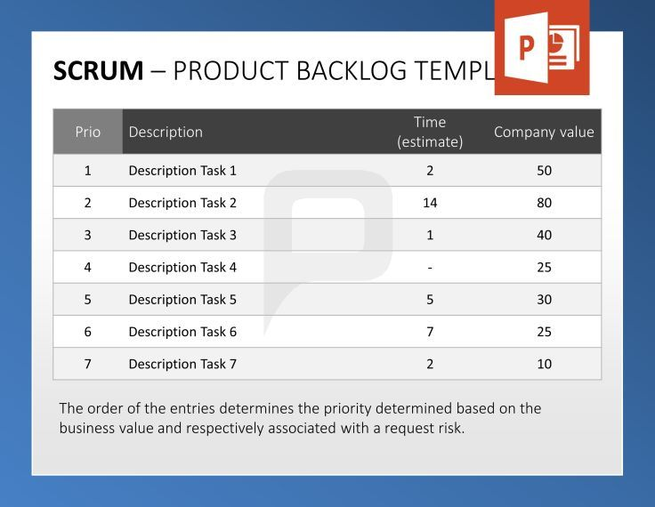 68 best ideas about scrum powerpoint templates on for Agile artifacts templates