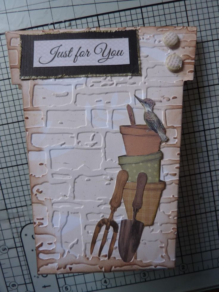 Handmade by Claire Lorraine: Craftwork Cards Potting Shed 3