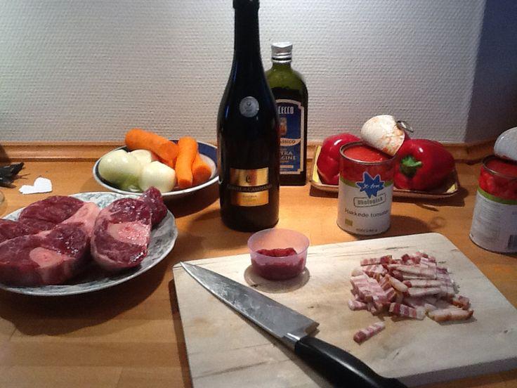 Osso Buco eller Kød i Mørke