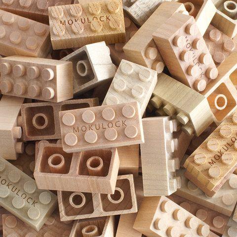 Puust klotsid / Interlocking wooden blocks – Mokulock