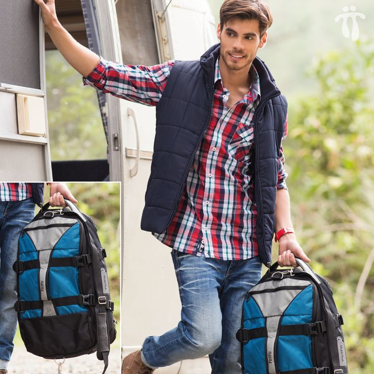 ¿Qué tal este #look para tu próximo #viaje? www.totto.com