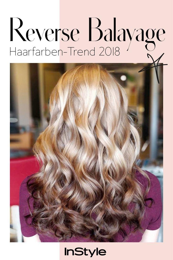Haarfarben Trend 2018 Reverse Balayage Stellt Alles Auf Den Kopf
