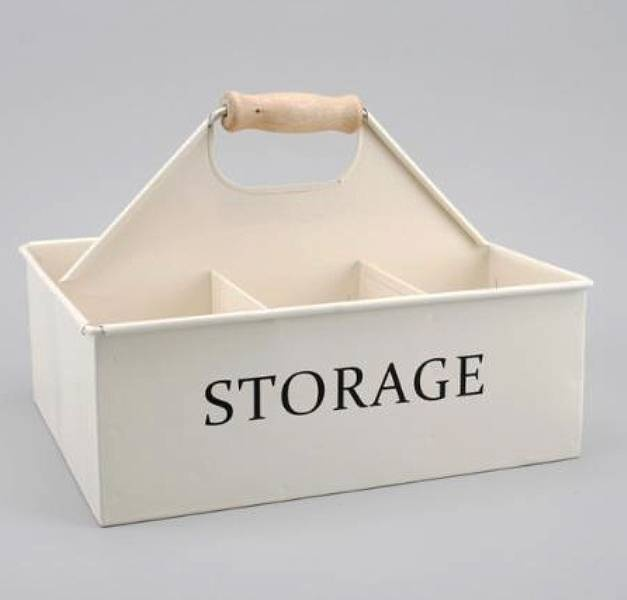 Six Section Storage Caddy For Cleaning Items
