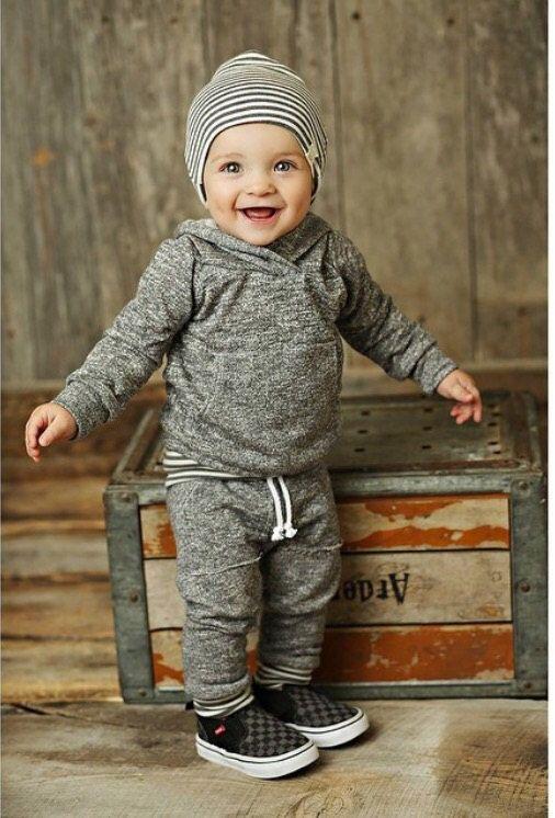 Dark Grey baby hoodie newborn baby hoodie french by ShopLuluandRoo