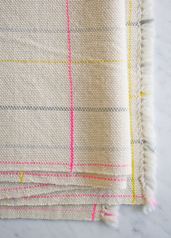 Whit's Knits: Woven PlaidScarf - The Purl Bee