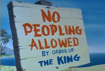 "Bedknobs and Broomsticks, one of my most favorite quotes! ""No Peopling Allowed!"""