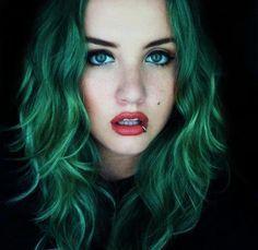 capelli verdi tumblr - Cerca con Google