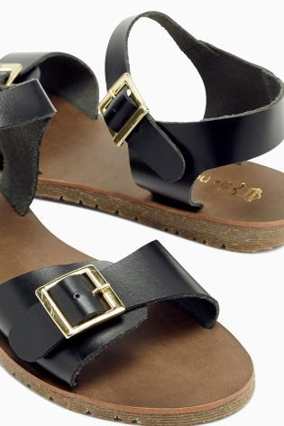 Buy Leather Buckle Sandals online today at Next: Slovakia