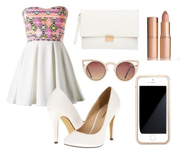 Sin título #88 by omgispolyvore on Polyvore featuring moda, Michael Antonio, Witchery, Squair, Quay and Charlotte Tilbury