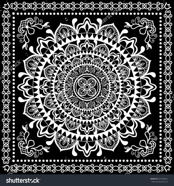 stock-vector-black-bandana-print-silk-neck-scarf-or-kerchief-square-pattern-design-style-for-print-on-fabric-297385661.jpg (1500×1600)