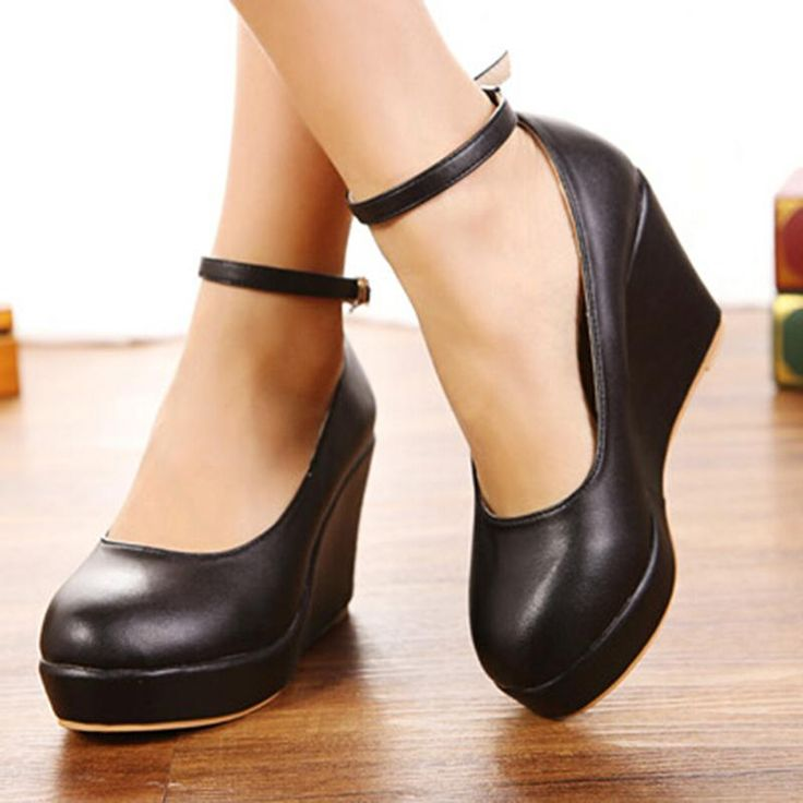 Fashion new arrival sweet comfortable wedges single shoes plus size women wedges shoes small single shoes 30 31 32 33 41 42