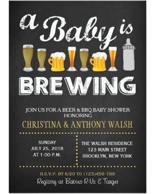 baby bbq invitations