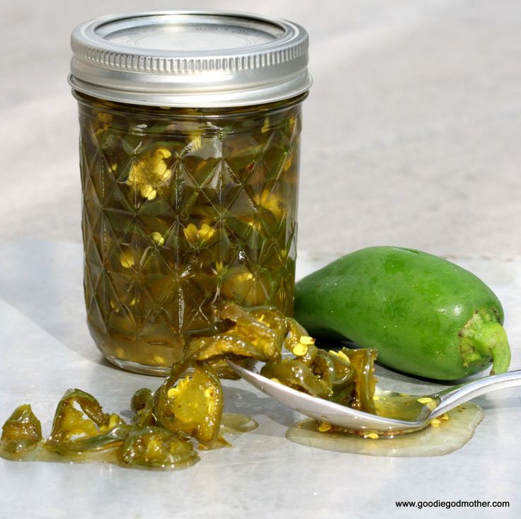 Candied Jalapenos by Goodie Godmother