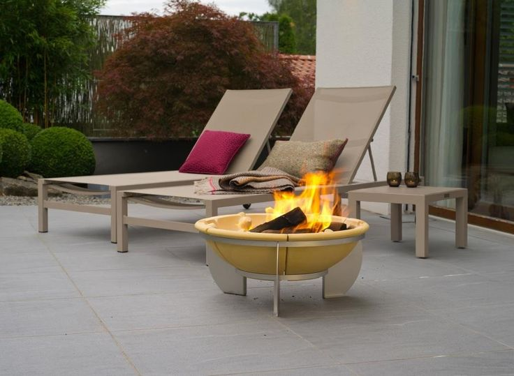 The Range Fire Pit Part - 44: The Feurio Brazier Fire Pit, The Largest Ceramic Fire Pit In The Denk Range.  The Denk Ceramic Braziers Are Unique, Constructed From A Ceramic Material  ...