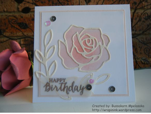 Stampin' Up! Rose Wonder, Rose Garden thinlits dies
