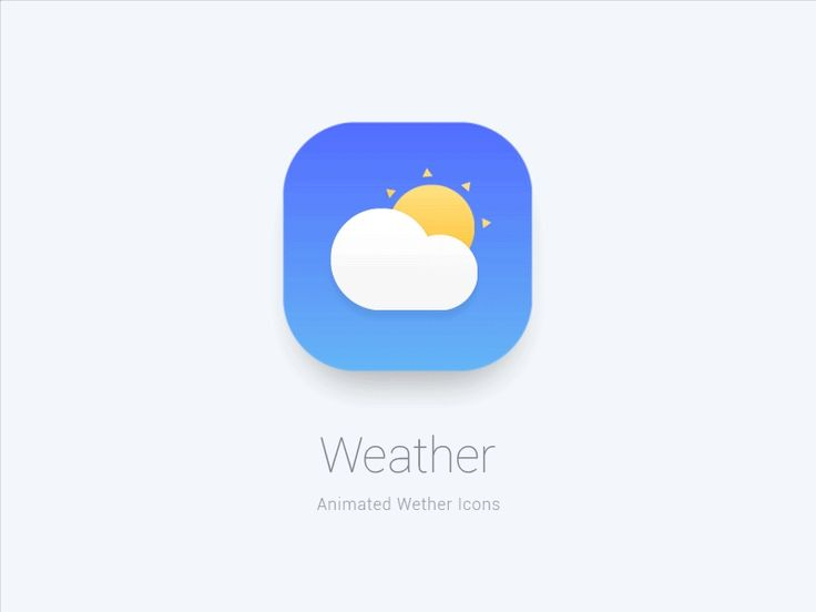 Animated Weather by J. Brown