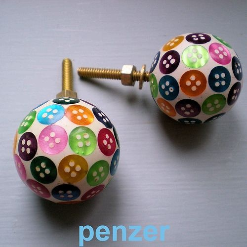 Superb Pretty Mini Button Drawer Knobs