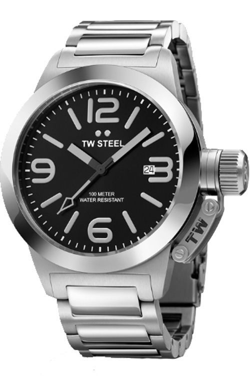 cff1d2e4c TW Steel Watch - Unisex Canteen Style Metal Bracelet - TW300 | Think ...