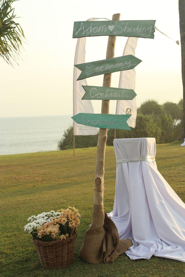 Wedding Sign,Vintage wedding decor www.nouadecor.com