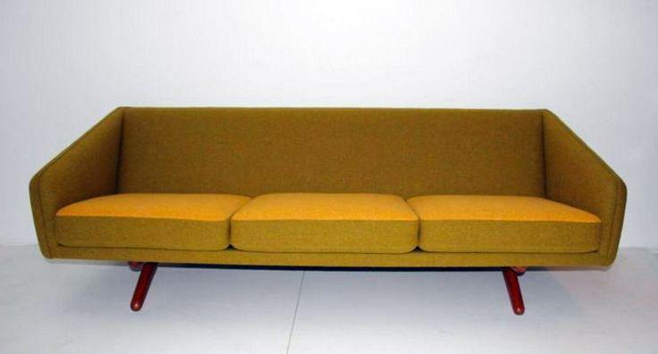 Vintage design jaren 50 Illum Wikkelso sofa