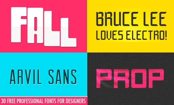 30 Royalty Free Fonts for Designers - Download Professional Fonts. Read full article: http://webneel.com/webneel/blog/30-royalty-free-professional-fonts-designers-download-now | more http://webneel.com/free-fonts-download | Follow us www.pinterest.com/webneel