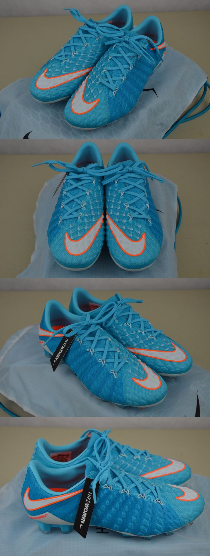 Women 159176: Nike Women S Polar Blue White Hypervenom Phantom Iii Fg Soccer Cleats 881543-414 -> BUY IT NOW ONLY: $119.95 on eBay!