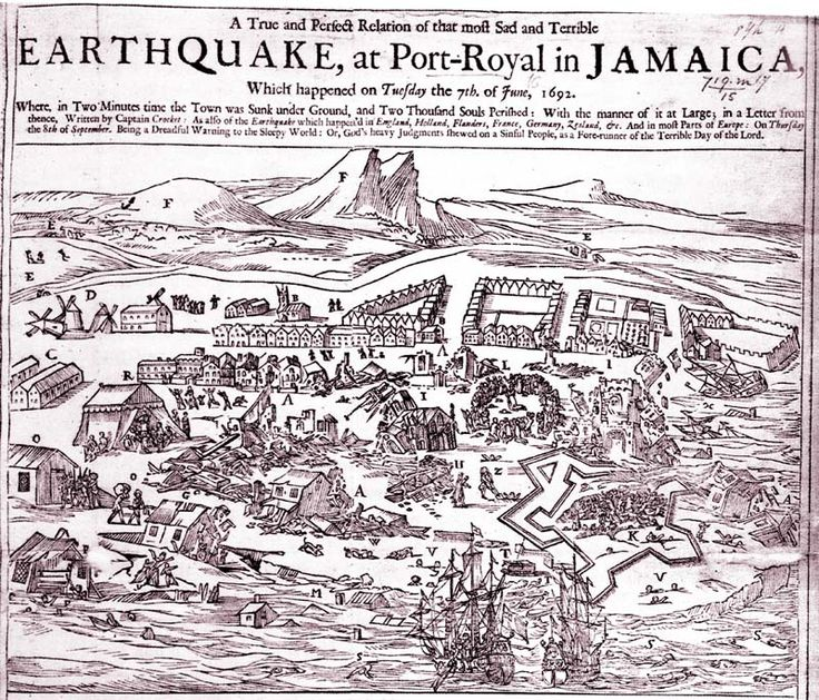 Port Royal Earthquake