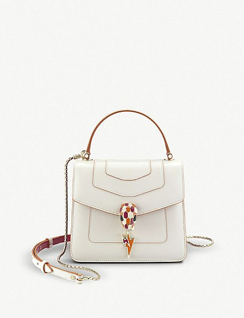 47e53db5caed BVLGARI Serpenti Forever leather shoulder bag | bags in 2019 | Bags ...