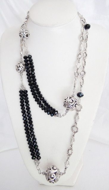 Black and Silver chain