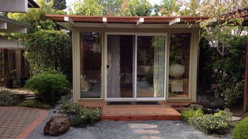 123 best mid century modern decor images on pinterest for Mid century modern shed