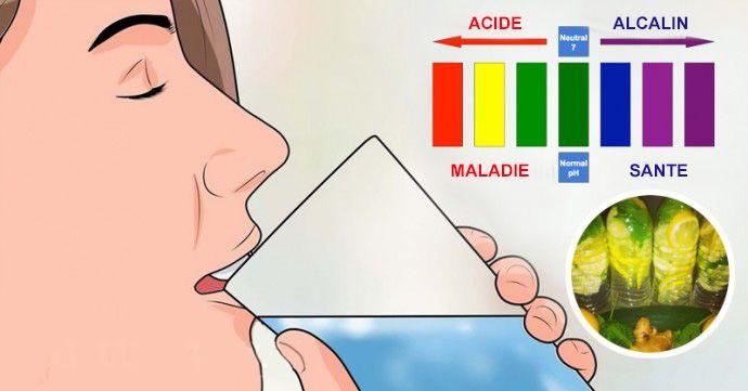 L'eau alcalinisante à 5 ingrédients que tout le monde devrait boire le matin et le soir pour un pH équilibré. Que vous soyez confronté à des problèmes de peau, d'inflammation, ou tout simplement un régime et des intestins déséquilibrés, cette simple boisson va vous aider. La beauté est la récompense du rééquilibrage des niveaux de pH: cette boisson a non seulement la spécialité de nettoyer votre peau, mais aide le corps tout entier.
