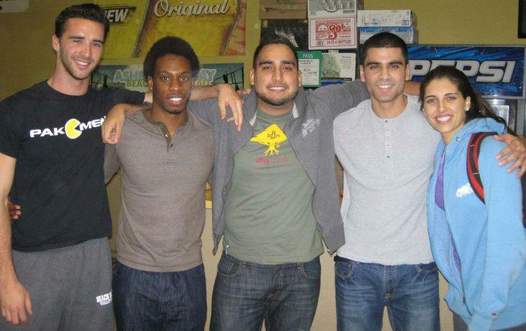 Victoria, Karim, Jessi, Kadeem and Daniel!