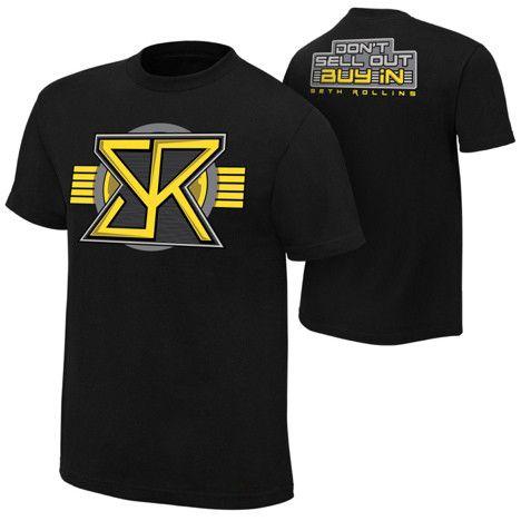 New Seth Rollins Redesign Rebuild Reclaim Men's T-Shirt John Cotton Shirt cena dean ambrose DA T-Shirt