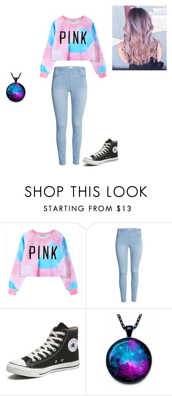 """Untitled #155"" by lovelylittleone on Polyvore featuring Chicnova Fashion, Converse, women's clothing, women's fashion, women, female, woman, misses and juniors"