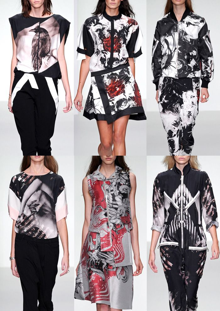 London Fashion Week   Spring/Summer 2014   Print Highlights   Part 1 catwalks