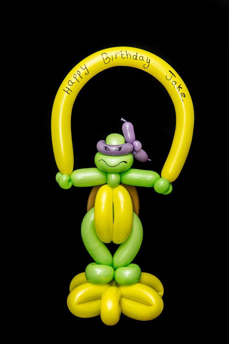 Ninja Turtle Balloon Twist                                                                                                                                                     More