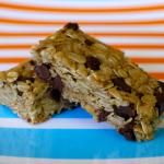 Chocolate Chip Granola Bars More coconut oil for cohesive bars, much less honey, use palm sugar