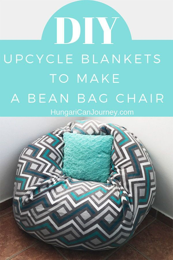 The Easiest Diy Bean Bag Chair Tutorial Learn To Create Beautiful Things Make A Bean Bag Chair How To Make A Bean Bag Diy Bean Bag